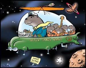 Sam Hurt - Otter Space Ship copy